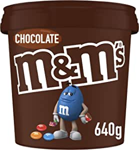 M&M's Milk Chocolate Party Size Bucket (640g) (Packaging may vary)