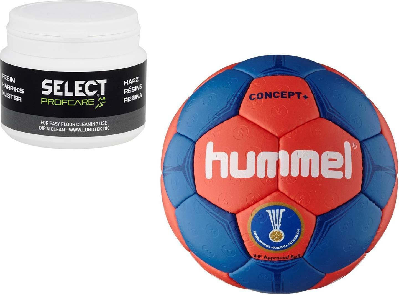 Hummel concept plus de balonmano + select ProfCare resina 200 ml ...