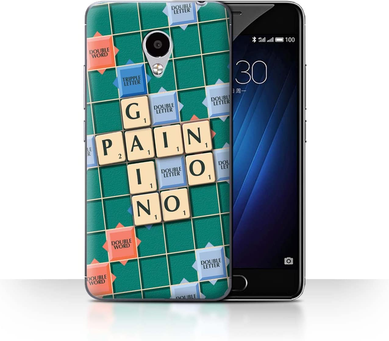 STUFF4 Phone Case/Cover/Skin/mzum3s/Scrabble Palabras Collection ...