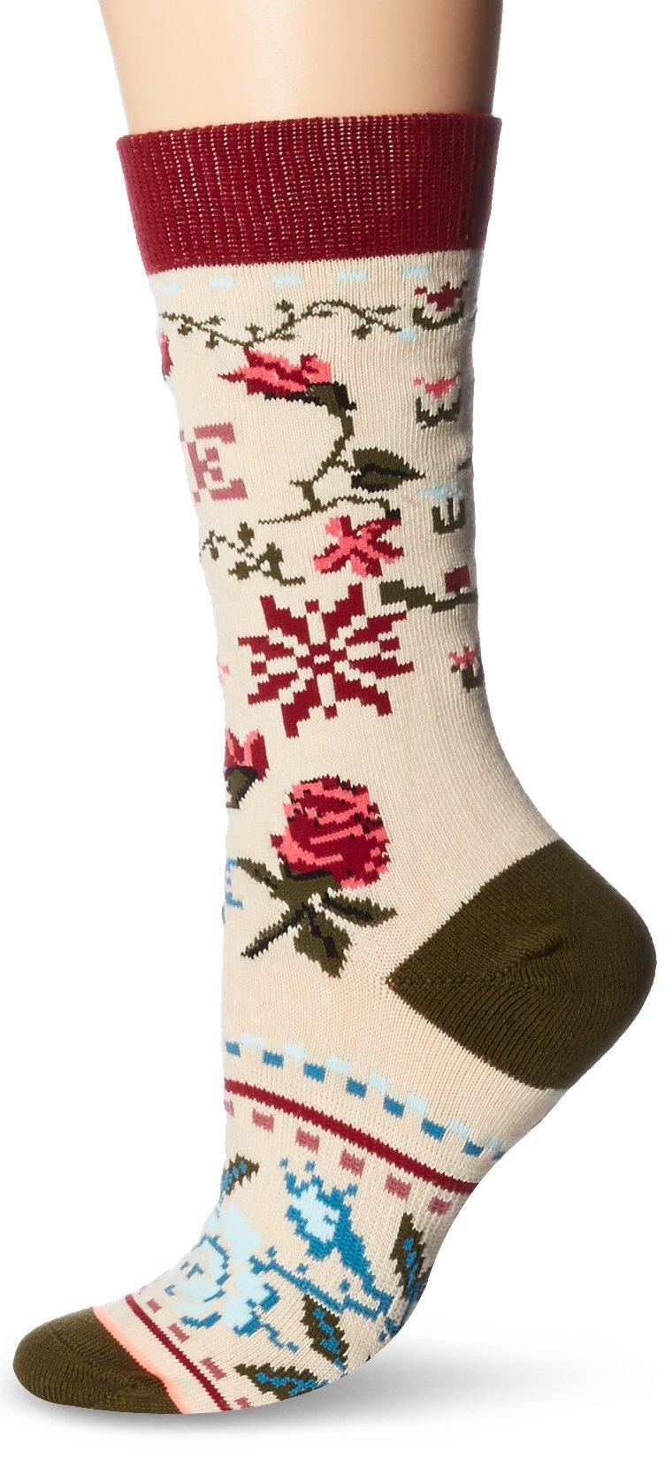 Stance Women's 2 Pack Holiday Socks Gift Box Set, Multi, Medium