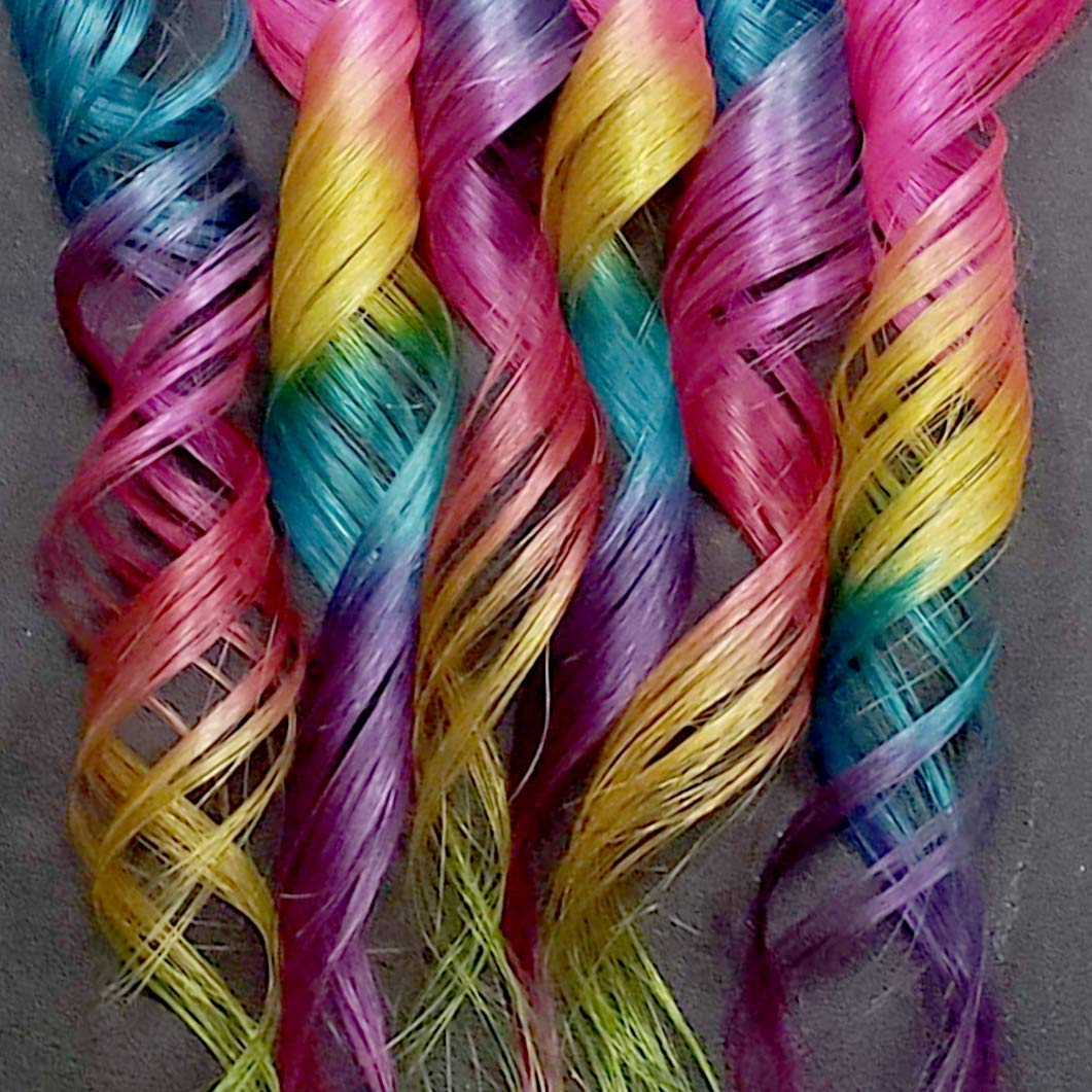Clip extensions pink