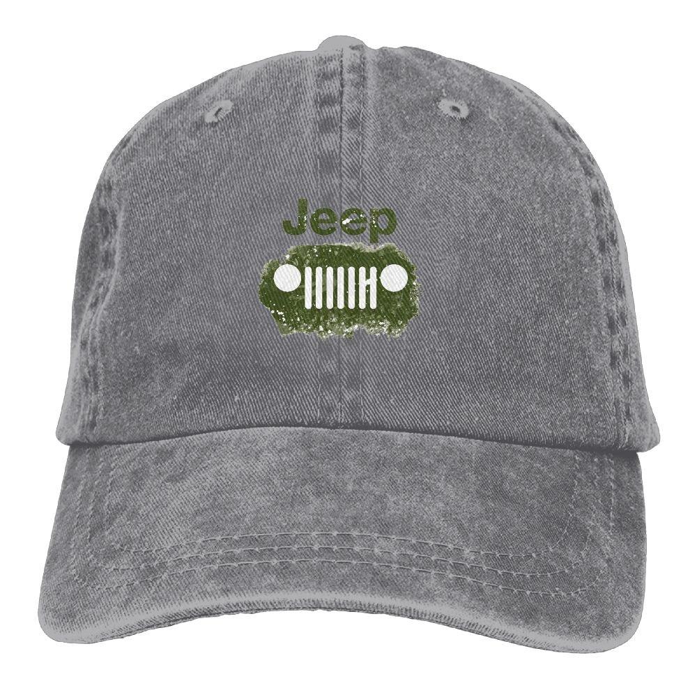 Jeep Logo Unisex Baseball Cap Trucker Hat Adult Cowboy Hat Hip Hop Snapback