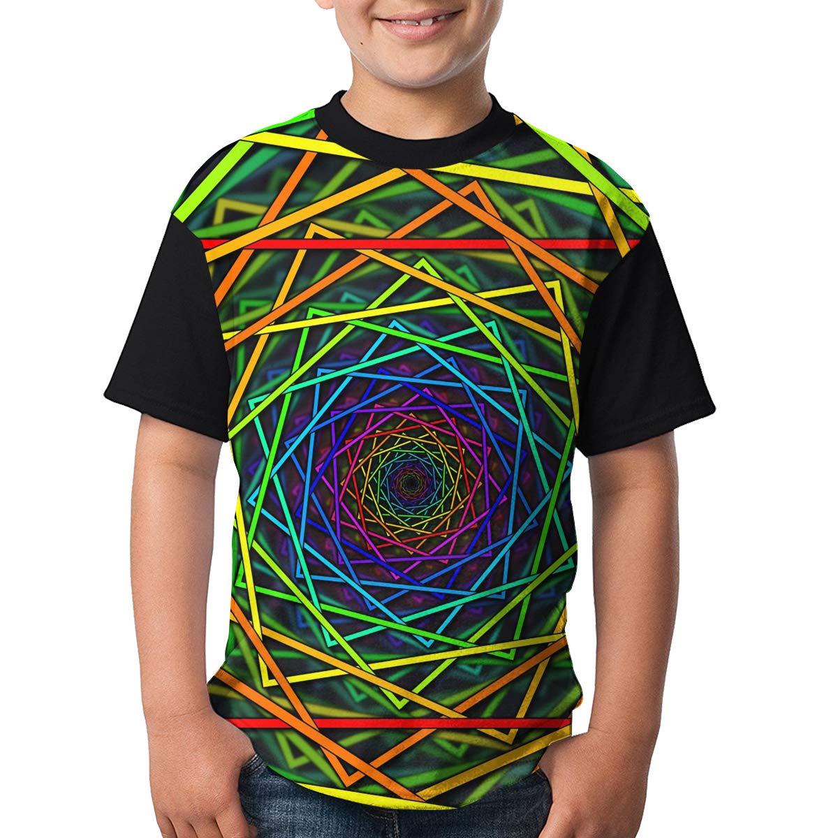 Toomny Boys Colorful Short Sleeve T-Shirt