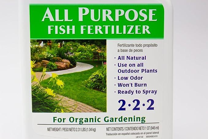Organic peces Emulsión Plant - fertilizantes 2 unidades por Alaska ...