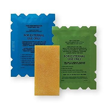 RSDL® (Reactive Skin Decontamination Lotion) Chemical Warfare Agent Skin  Decon Kit