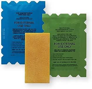 RSDL (Reactive Skin Decontamination Lotion) Chemical Warfare Agent Skin Decon Kit