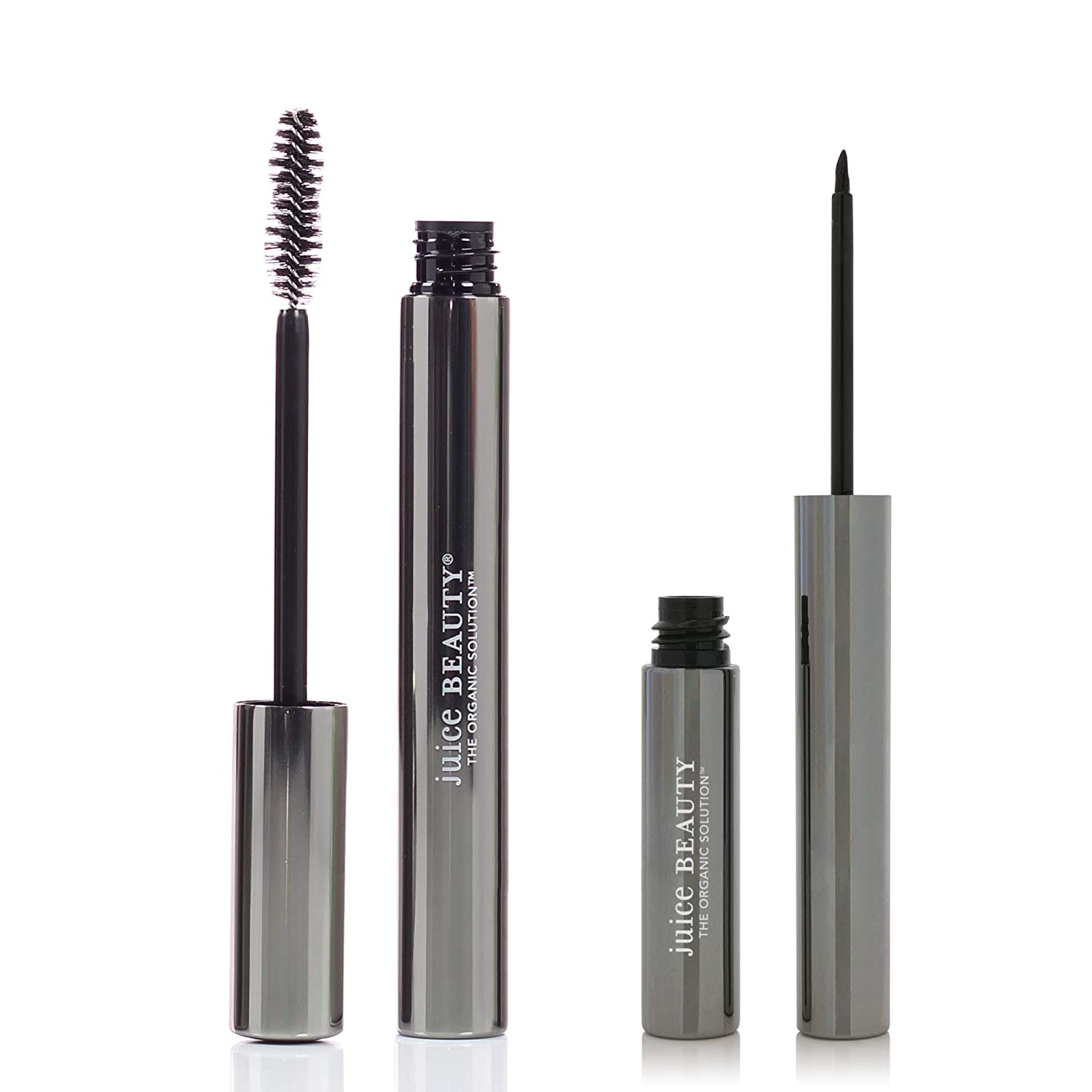 Juice Beauty Phyto-Pigments Eye Kit, Phyto-Pigments Ultra Natural Mascara: Black, Phyto-Pigments Liquid Line & Define: Black