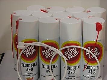 12 X Fluid Film As R Langzeit Rostschutz Kriechöl 400ml Sprühdosen 2 Xsonde Gratis Baumarkt