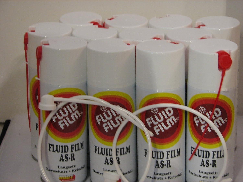 12 x Fluid Film AS de R Largo Tiempo de protecció n contra la oxidació n Kriechö l 400 ml sprü hdosen + 2 gratis xsonde Hodt
