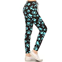 Leggings Depot Premium Jogger Women's Popular Print High Waist Track Pants(S-XL)