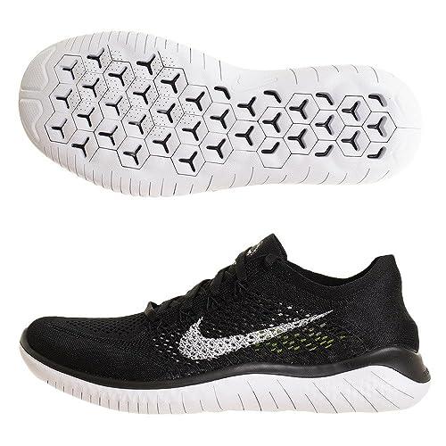 sale retailer 624b3 9e464 Nike Laufschuh Free Run Flyknit 2018, Zapatillas de Running para Hombre   Amazon.es  Zapatos y complementos