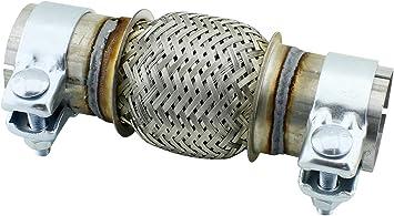 KATALYSATOR FLEXROHR HOSENROHR FLEX Ø 50 X100// 210 MM MONTAGE OHNE SCHWEIßEN