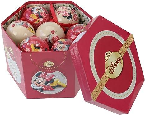 Eminza - Bolas de navidad caja disney minnie: Amazon.es: Hogar