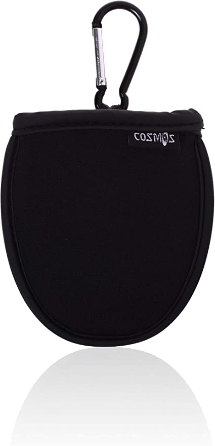 Amazon Com Cosmos Portable Pocket Golf Ball Washer Pouch Golf Ball Cleaner Pouch Black Sports Outdoors