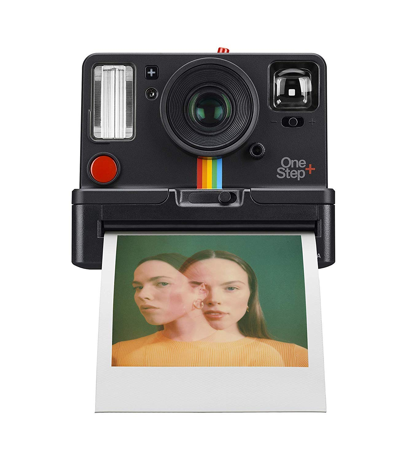 Polaroid Originals OneStep+ Black (9010), Bluetooth Connected Instant Film Camera