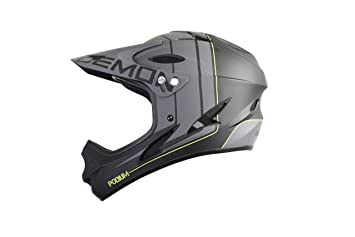 Demon Podium Full Face Mountain Bike Helmet (Black, S)