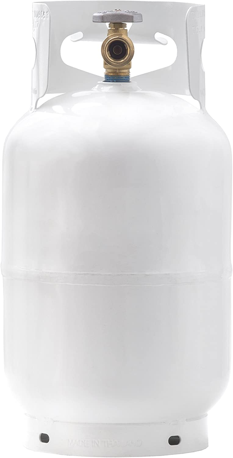 Worthington 281149 1-Gallon Steel Propane Cylinder With Type 1 With Overflow Prevention Device Valve