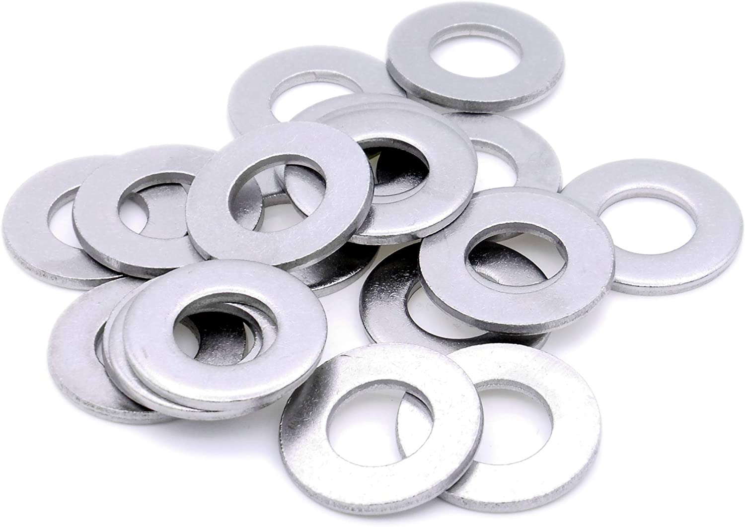 Form A Pack of 20 3mm M3 Flat Washer - Brass