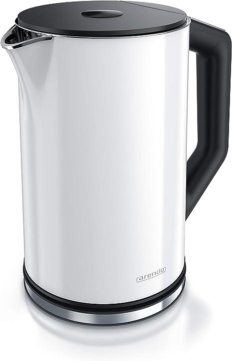 0,5l Edelstahl Wasserkocher mit Temperatureinstellung im Doppelwand Arendo