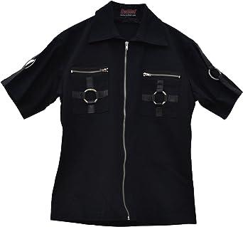 Camisa de manga corta celibato 14099905.008M -Men gótica de ...