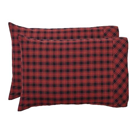 Amazon.com: VHC marcas Cumberland Funda de almohada Set ...