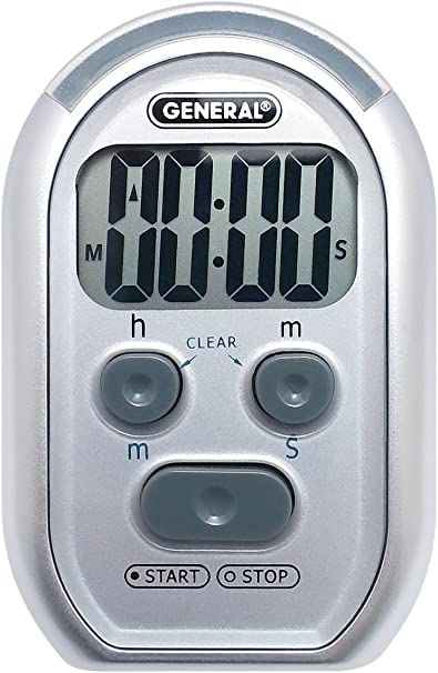 General Tools TI150 3-in-1 Kitchen Timer