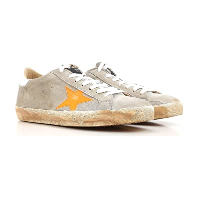cee7b26d09d9 Golden Goose Deluxe Brand Superstar Light Grey Sneakers Mens G32MS590.F10  Size 39 (6