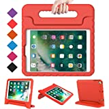 BMOUO Case for New iPad 9.7 Inch 2018/2017 - Shockproof Case Light Weight Kids Case Cover Handle Stand Case for iPad 9.7…