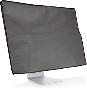 kwmobile Monitor Cover Compatible with Acer Aspire C24-865 - Anti-Dust PC Monitor Screen Display Protector - Dark Grey