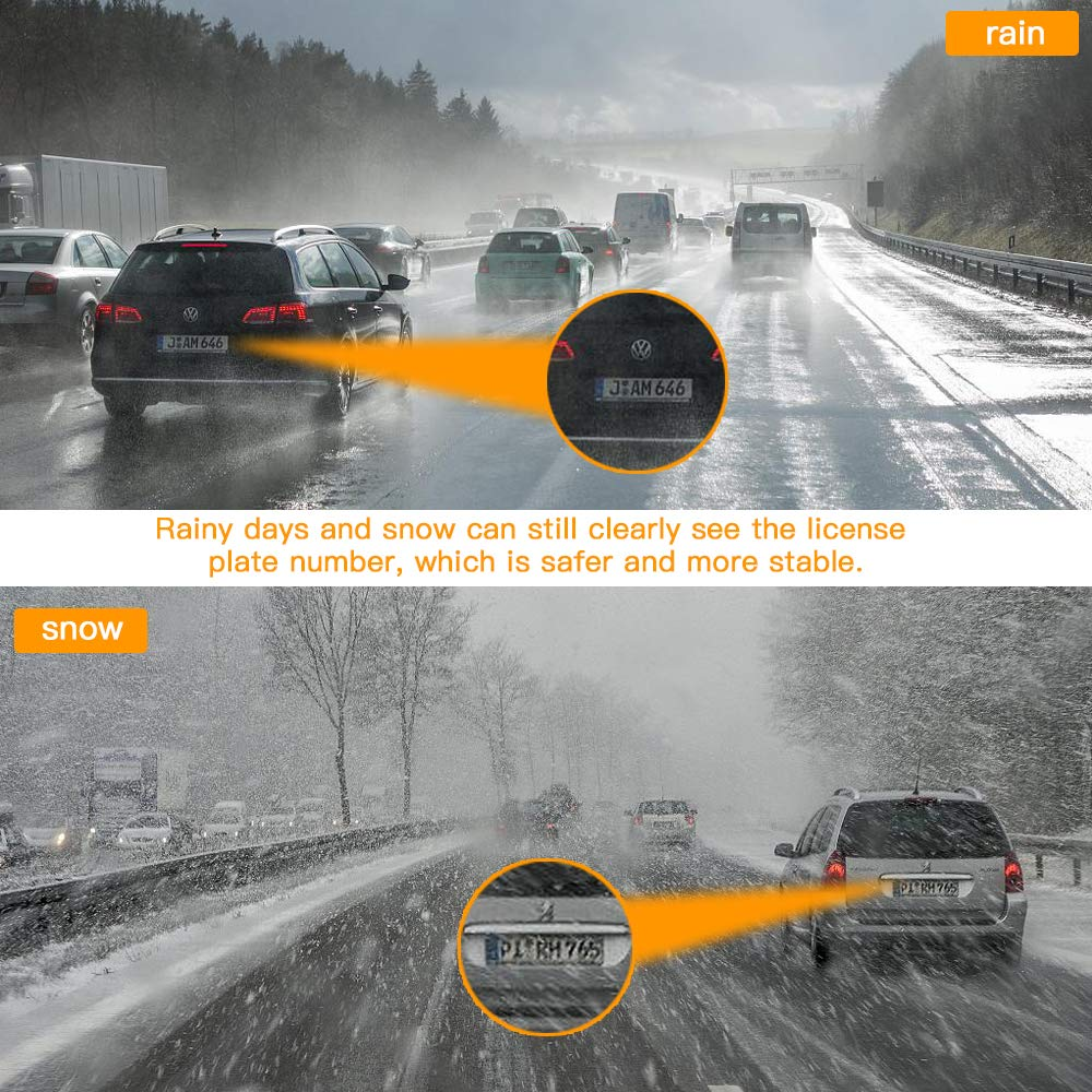 Loop Recording,Night Vision 2 LCD Detection SIV-Q2-USA1 2 LCD Detection 140/° Wide Angle Lens SIV Dashboard Camera with Full HD 1080P Driving Recorder G-Sensor Dash Cam