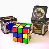 THE CUBIDIDU 3x3 - Magic Cube - Er lässt sich schneller und präziser drehen als das Original / der klassische Zauberwürfel! - Speedcube 3x3x3