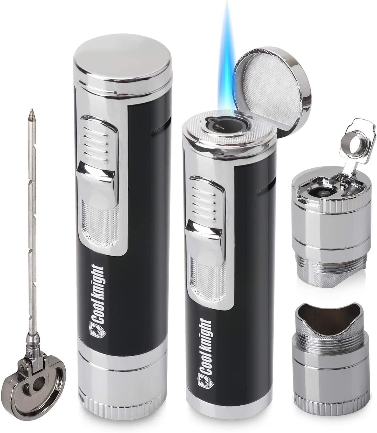 Sales of SALE items from new works COOL KNIGHT Genuine Cigar Accessories C asscessories Lighter