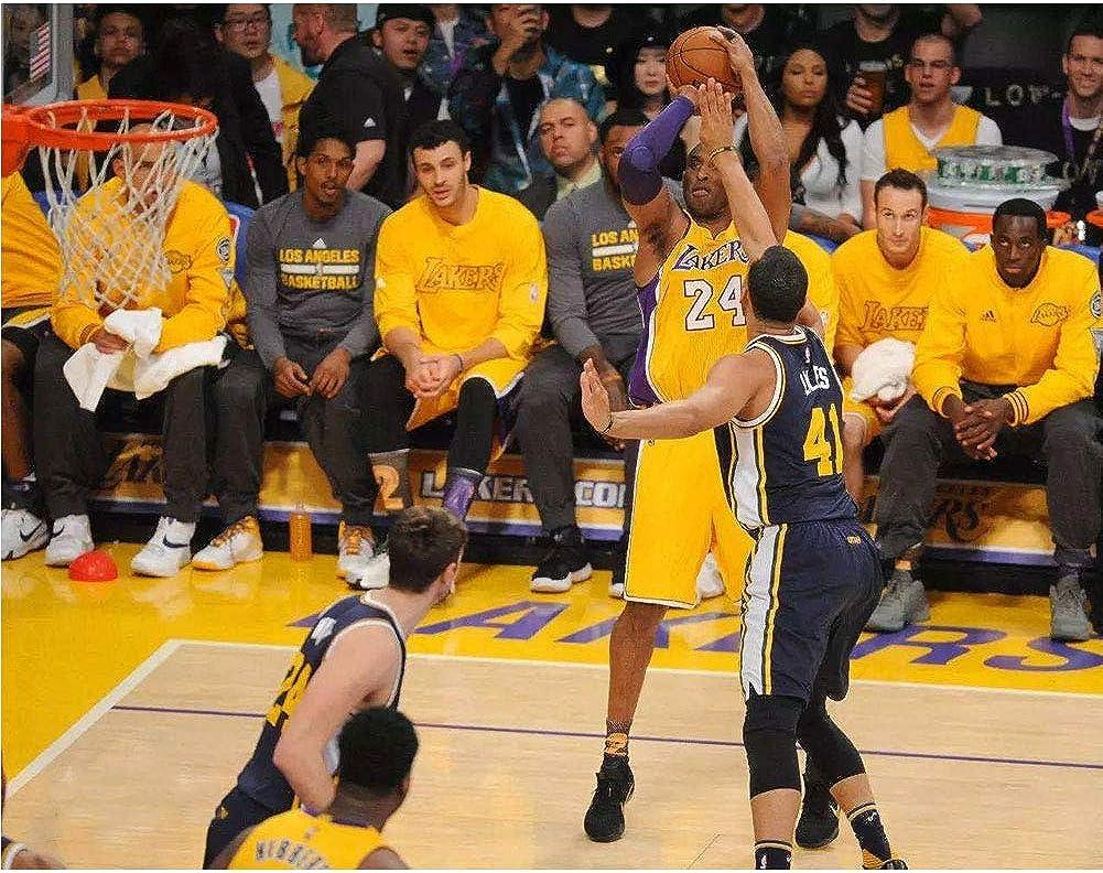 Los Angeles Lakers Kobe Bryant # 24 Basketball Shorts Sommer Trikots Basketball Uniform Top Kurz Klassiker im Ruhestand