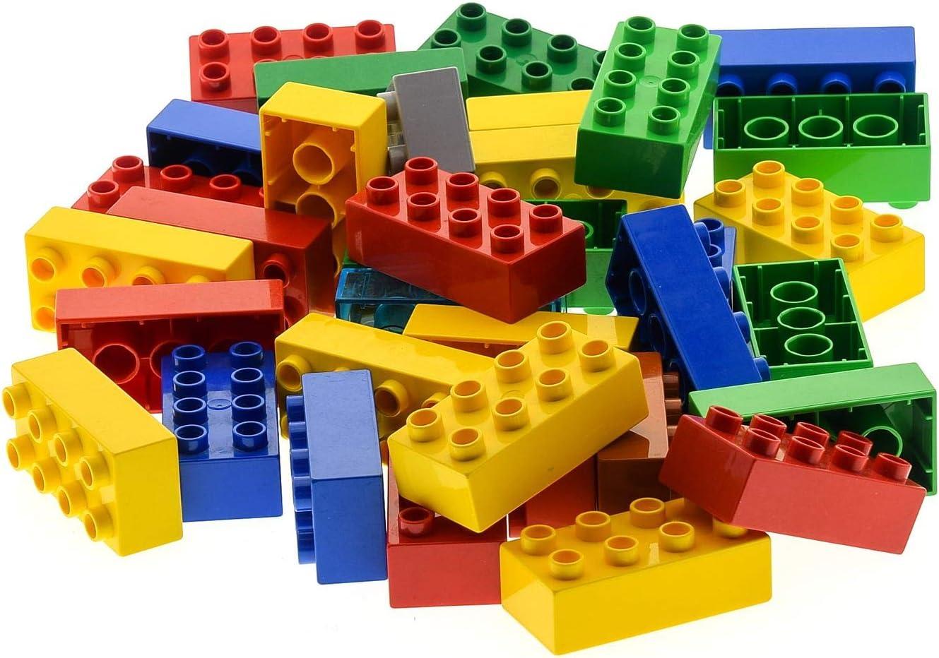 2 Noppen Lego Duplo 2er Primo dunkel-grün Stein Baustein