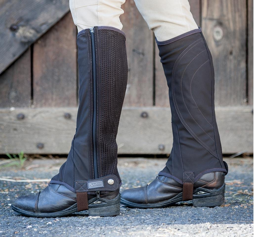 Dublin Easy-Care Half Chaps II Adults
