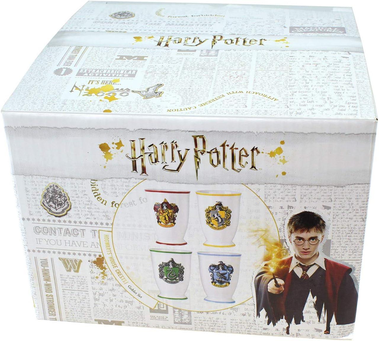 Amazon.com: Harry Potter - Juego de tazas de vaso de cristal ...
