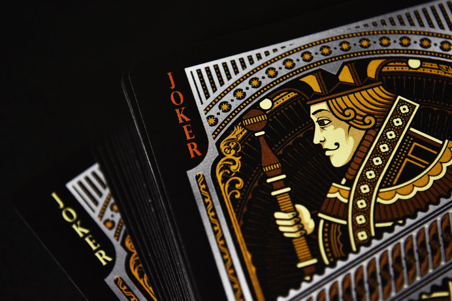 Alloy Copper Playing Cards Poker Deck Custom Design Foiled Back New by Gamblers Warehouse (Image #5)
