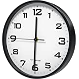 Amazon Price History for:Vremi 10 inch Silent Universal Round Wall Clock - AA Battery Operated Easy to Install Non Ticking Indoor Decorative Easy Read - Colorful Analog Clock Great for Home Office Classroom or Garage - Black