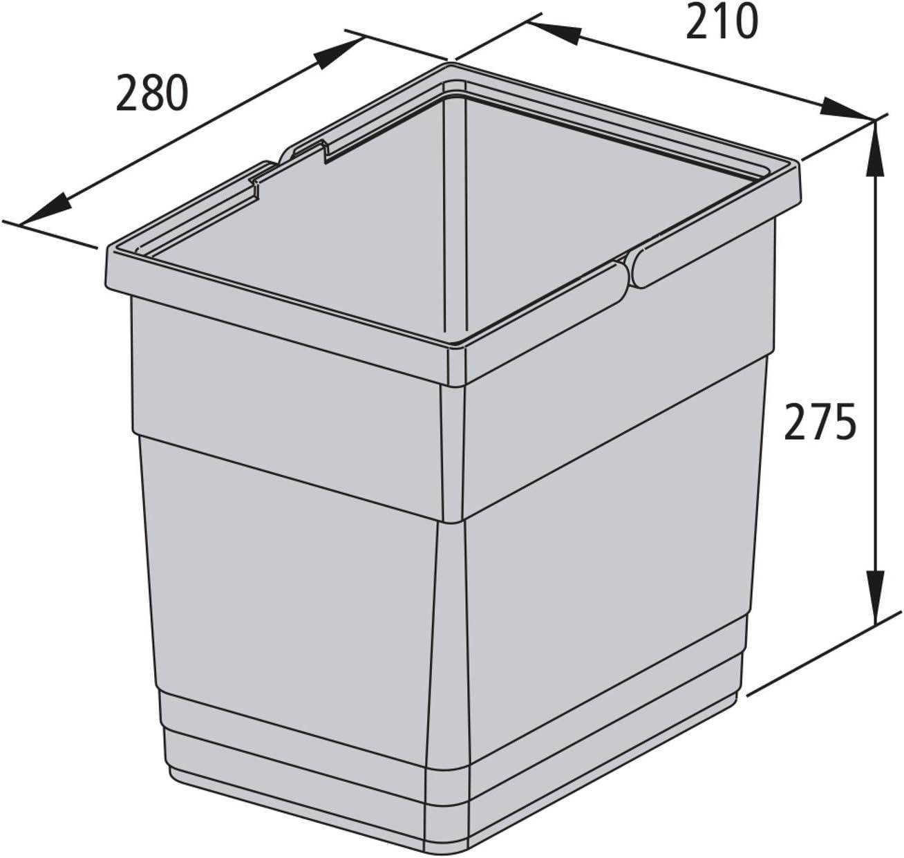 SOTECH Waste Bin Waste Collector 5136.11 for the Waste Separation System eins2vier