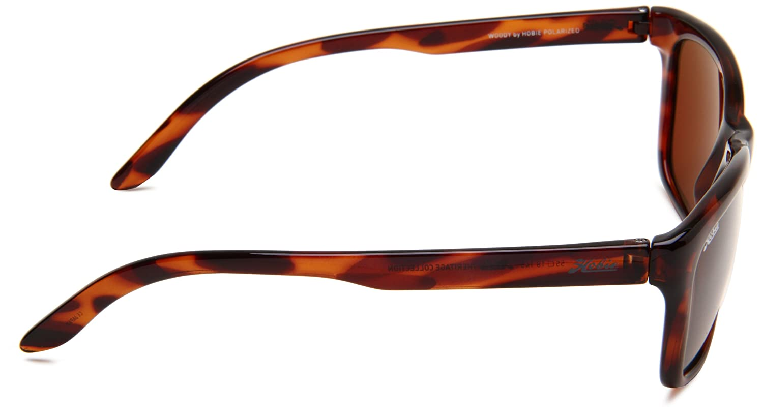 8721b8977d Amazon.com  Hobie Woody-50GGY Polarized Rectangular Sunglasses
