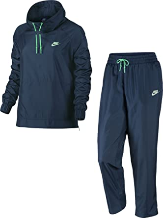 Nike W NSW TRK Suit Wvn Oh Chándal, Mujer: Amazon.es: Ropa y ...