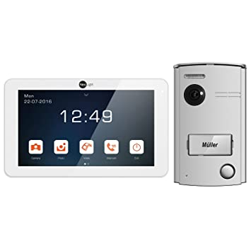 NeoLight Video-Türsprechanlage Porta 7 ✓ Touchscreen 7 Zoll Monitor ...