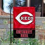 Cincinnati Reds Double Sided Garden Flag
