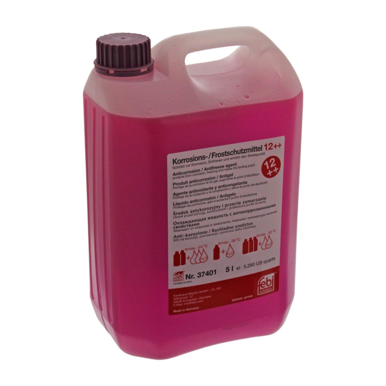 febi bilstein 37401 Antifreeze / Coolant G12 Plus Plus (Violet) 5 Litres