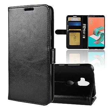 purchase cheap f6d92 bc5c6 Amazon.com: Scheam Asus Zenfone 5 Lite ZC600KL Wallet Case, Asus ...