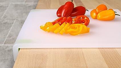Dexas Kitchen Workboard//Cutting Board 12.5 by 17 Inches