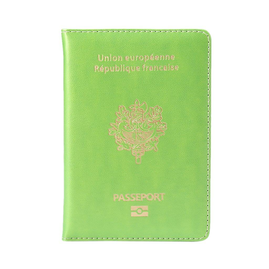 - SLYlive SLYlive Fashion bleu Prot/ège-passeport Mixte adulte Bleu