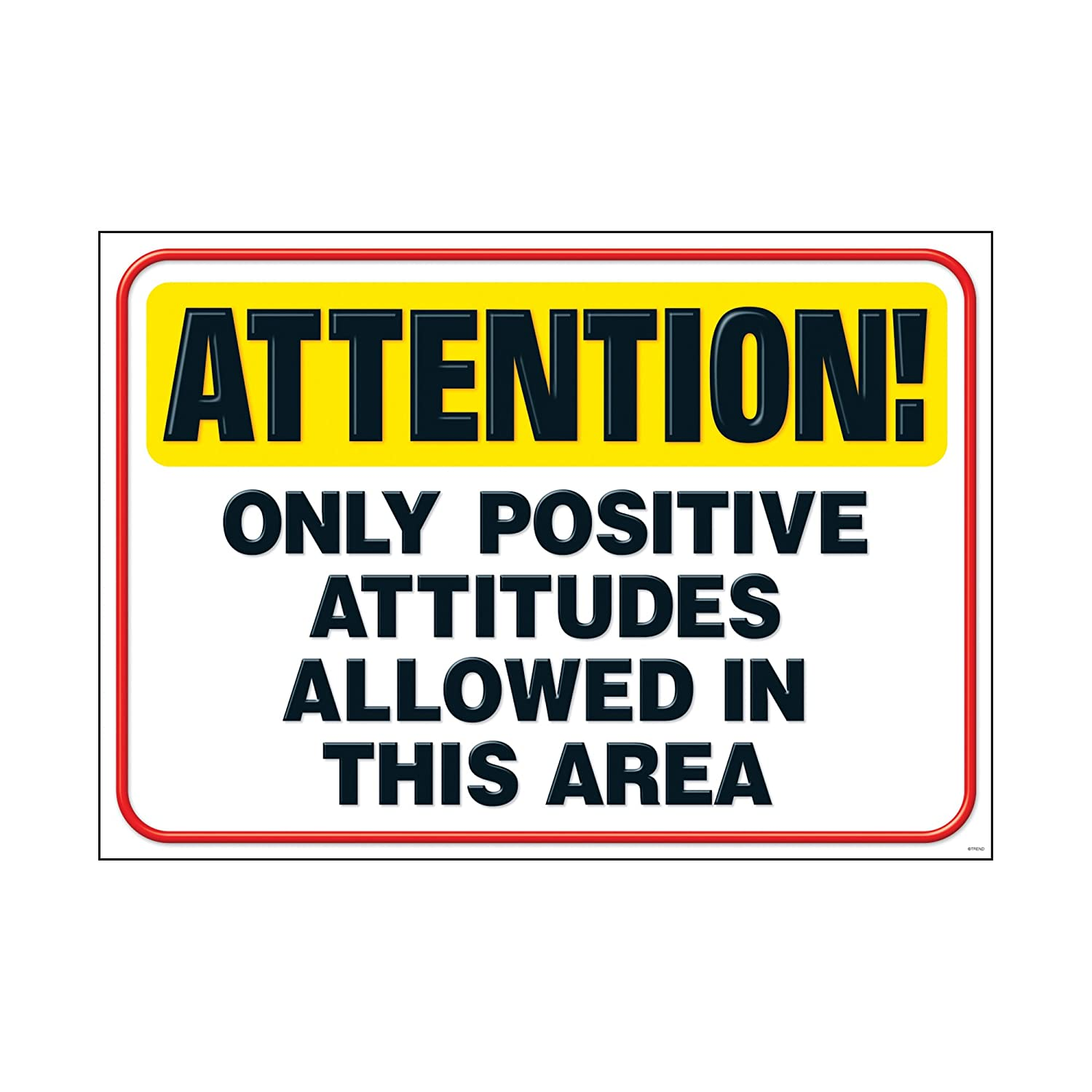 13.375 x 19 13.375 x 19 TREND enterprises Inc T-A67389 Argus Attention Only Positive Poster