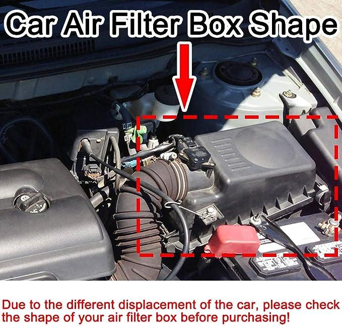 Luftfilter 17801 22020 17801 Yzz03 Für Corolla E120 E130 2001 2002 2003 2004 2005 2006 2007 1 4 L 1 6 L 1 8 L 17801 0d010 Auto