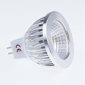 Vvciic 6W MR16 LED COB Bombilla de la lámpara del proyector ...